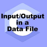 File input output in c